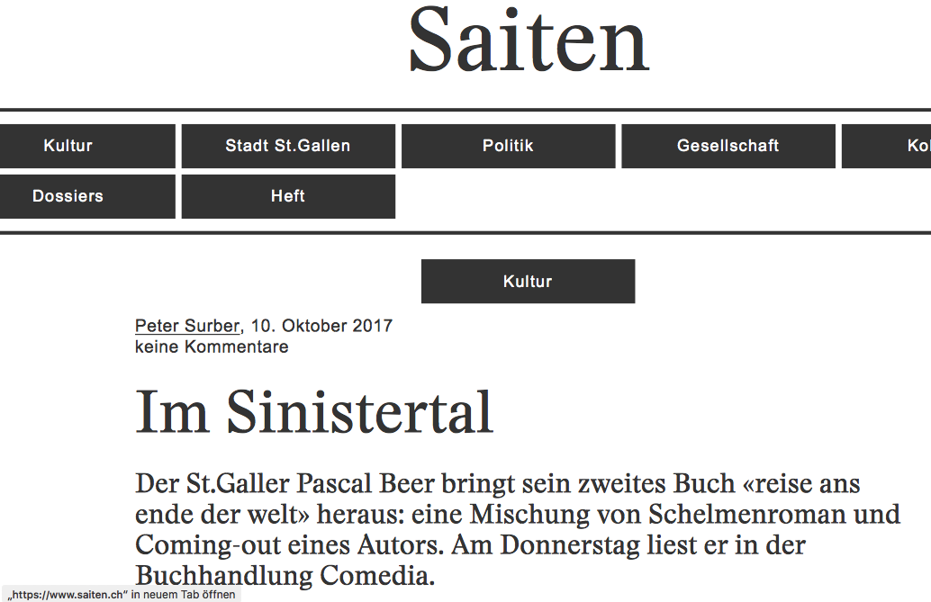 Rezension reise Saiten 1/5