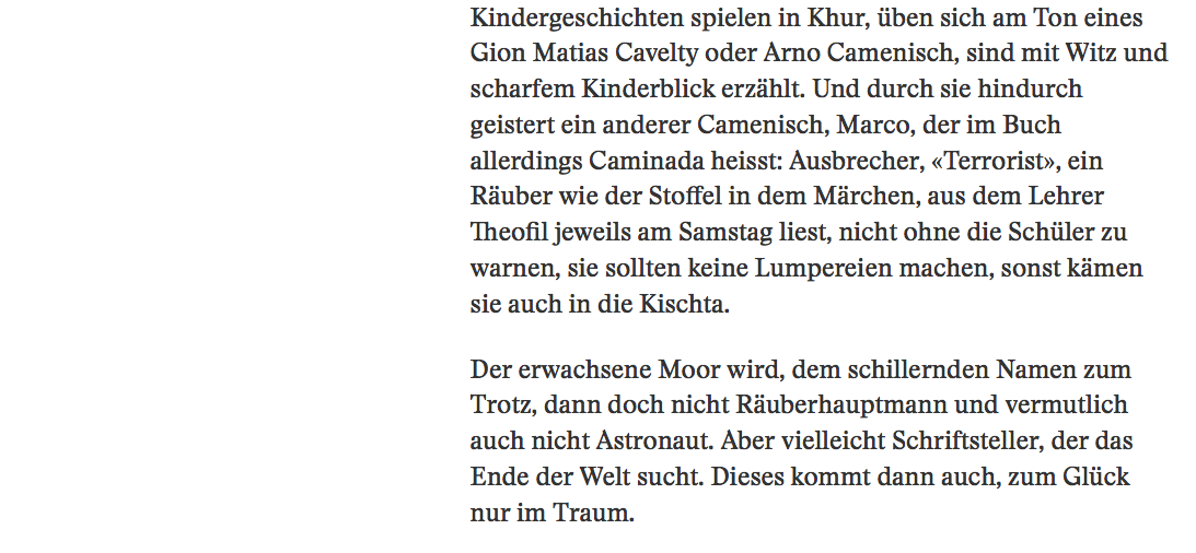 Rezension reise Saiten 5/5